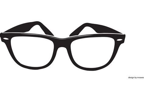 glasses vector free wayfarer vector