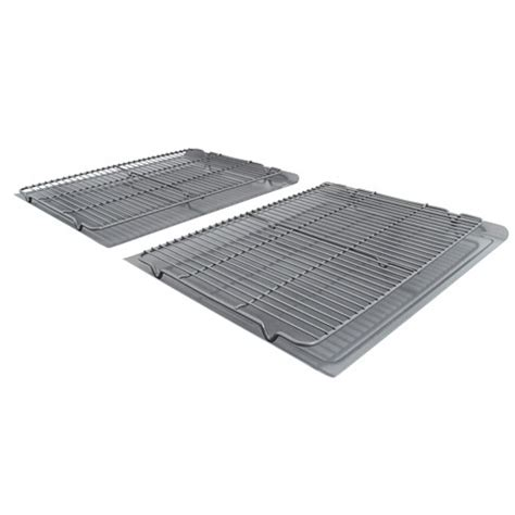 Cooling Racks For Cookies by Calphalon Nonstick 4 Large Cookie Sheet Cooling