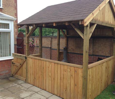 dave crossley garden shelter latham hall construction