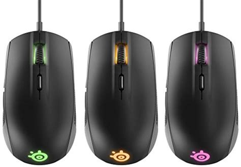 steelseries rival 100 optical gaming mouse black buy