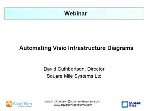 automate visio automating visio infrastructure diagrams