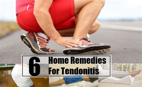 6 best home remedies for tendonitis treatments