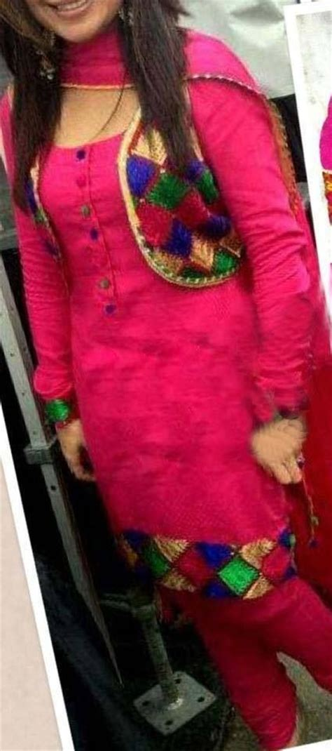 jacket design for punjabi suit beautiful phulkari with jacket punjabi pinterest