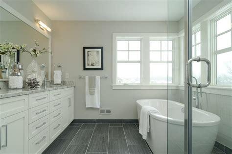 white tile bathroom flooring