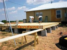 crav guide to get wood sheds houston