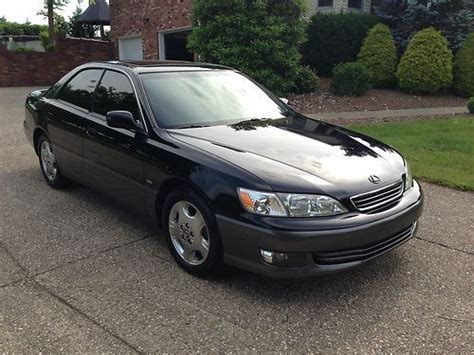 auto air conditioning service 2001 lexus es on board diagnostic system sell used 2001 lexus es300 coach edition black on black in crestwood kentucky united states