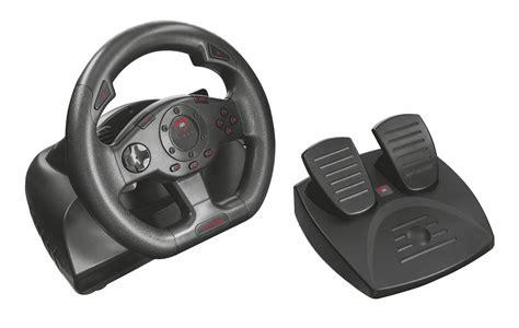 vibrazione volante trust gxt 580 volante da corsa con feedback a vibrazione