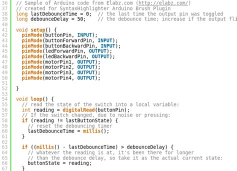 arduino code how to arduino code syntax highlighting plugin for your wordpress
