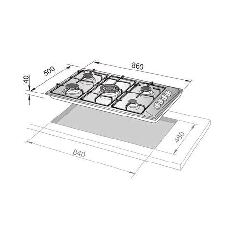 piano cottura de longhi piano cottura de longhi sl59asdv sabbia 86x50 5 fuochi