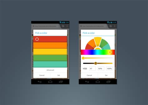 android color picker a new colour picker on firefox for android mozilla ux