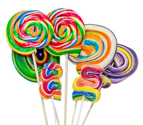 lollypop stick pictures xmas colored sweet candys lollipops sticks nicholas candys isolated white