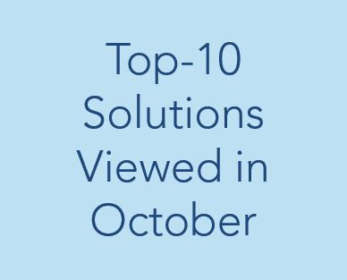 check out the top 20 for this month the qa wiki top 10 solutions in october better buildings initiative