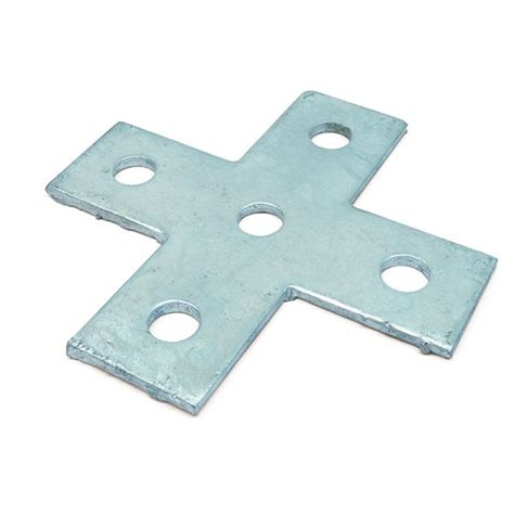 Flat Corbels Channel Flat Bracket Hdg 4 Way Cross Plate From Mcp Uk