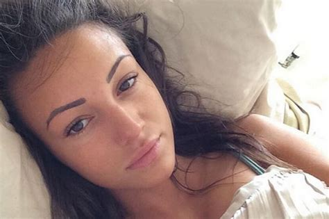 bed selfie nomakeupselfie michelle keegan dares to bare all for the