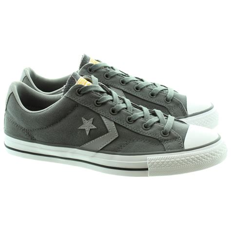 Converse Player Gray converse starplayer ev canvas ox pumps in grey in