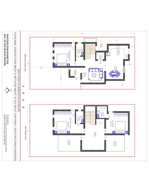 home design plans 30 60 20 x 40 house plans south facing escortsea