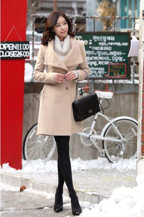 Coat Musim Dingin Luaran Baju Hangat Winter Wool Furing Anti Angin N pakaian musim dingin korea dan baju musim dingin korea