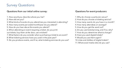 Event Design Questions | fandango events design spec