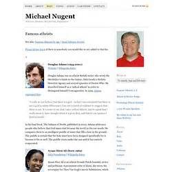 famous atheists michael nugent atheism pearltrees