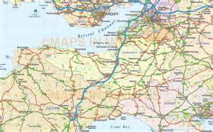 road map south west map