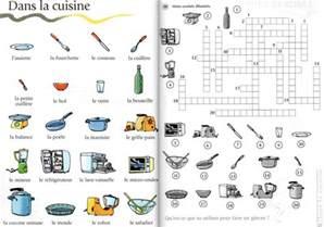 mots crois 233 s de la cuisine a1 le fran 231 ais avec des