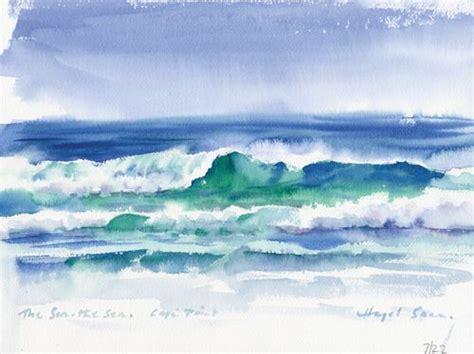 Watercolor Tutorial Beach | easy watercolor beach landscapes www pixshark com