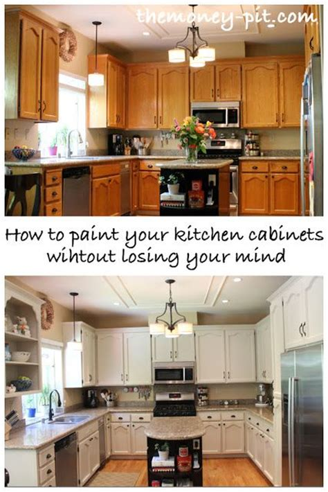 how to remove kitchen cabinets without damage how to paint your kitchen cabinets without losing your