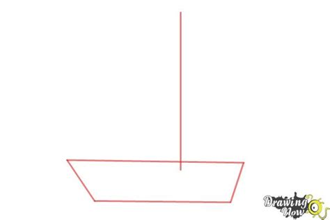 how to draw a simple easy boat how to draw a simple boat drawingnow