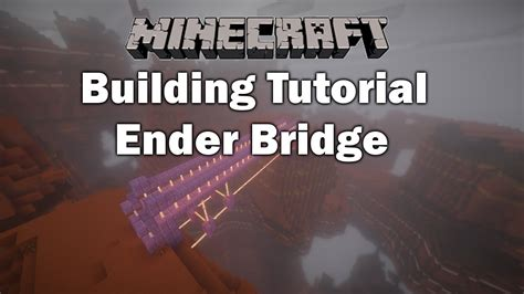 builder design pattern youtube minecraft building tutorial ender bridge youtube
