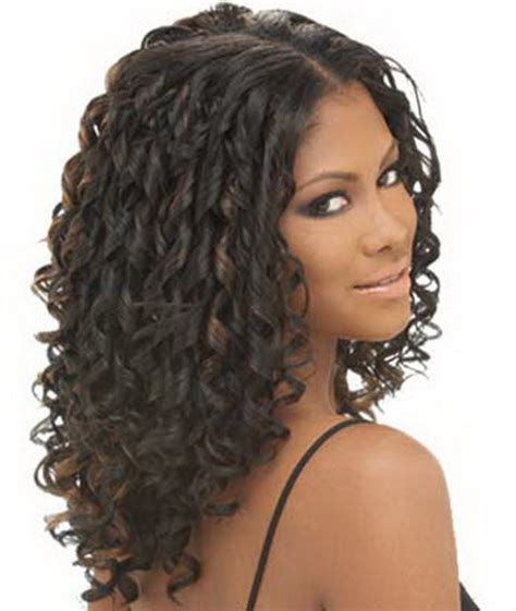 curly weave hairstyles curly weave hairstyles with bangs