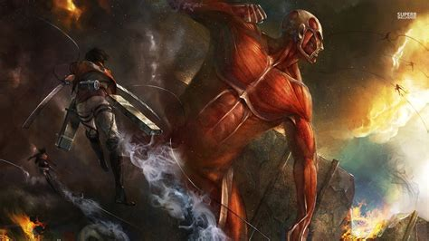 anime attack on titan attack on titan wallpaper anime wallpapers 27775 chainimage