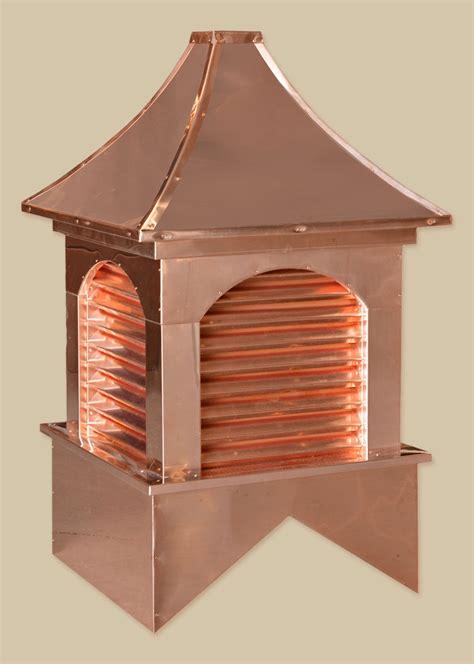 Copper Cupola estate copper cupolas backyard beyond