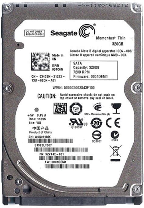Hdd Pc 320gb hdd laptop seagate 320gb 7200rpm