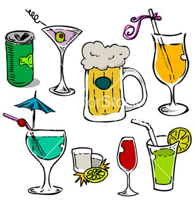 chagne glass cartoon creative happy hour a wine and cocktails coloring book