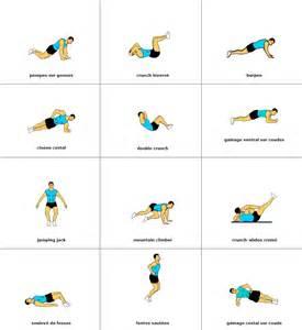 12 exercices pour maigrir sant 233 bien 234 tre