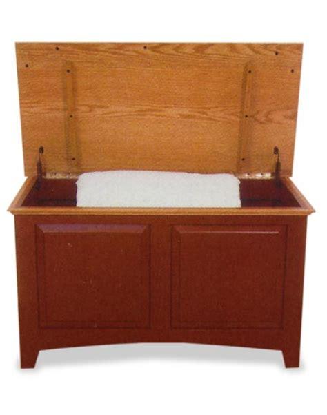 amish raised panel linen chest amish bedroom furniture sugar plum oak amish furniture in