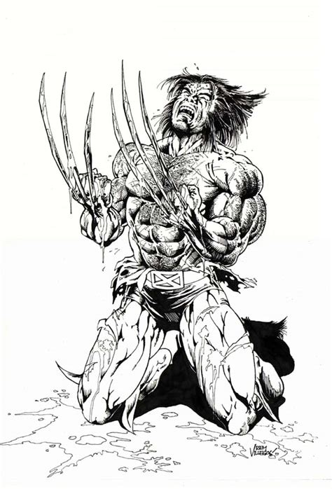 wolverine black and white by reybronx on deviantart