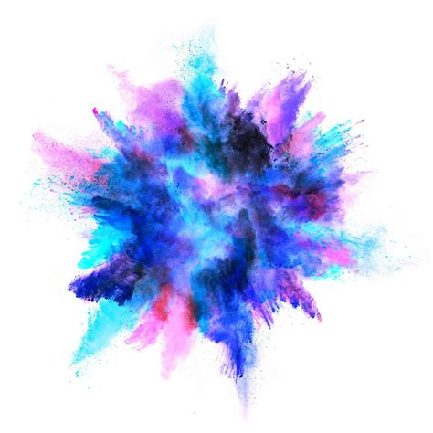 Watercolor Explosion Tutorial | watercolor digital paper colored explosion textures