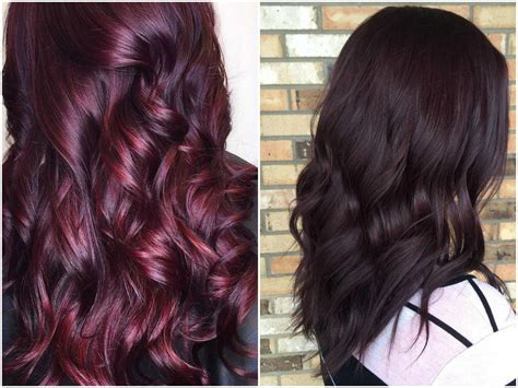 maroon hair color 60 burgundy hair color ideas maroon deep purple plum