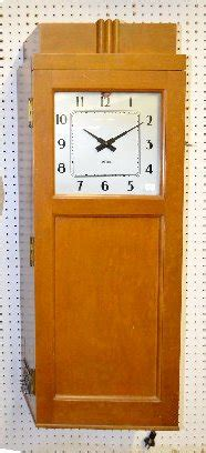 Standard Electric Time Company Wall Clock Price Guide