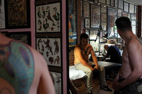 brooklyn tattoo shops the canvases walk in the door a
