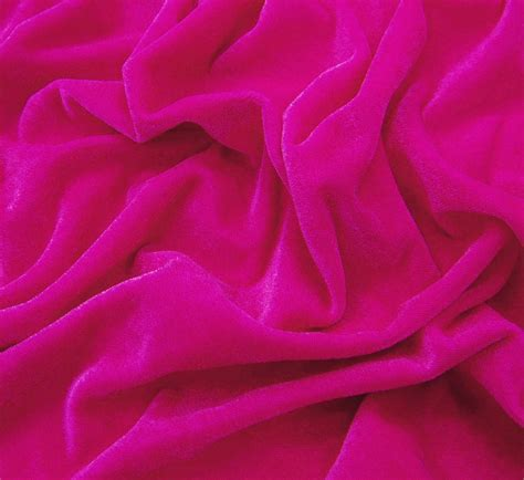 pattern fabric pink pink velvet dressmaking fabric 54 quot wide solid pattern