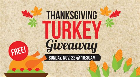thanksgiving turkey giveaway in denton the bridge church blog - Turkey Giveaway 2017