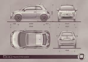 Fiat 500 Measurements Reserva De Imagens Blueprints