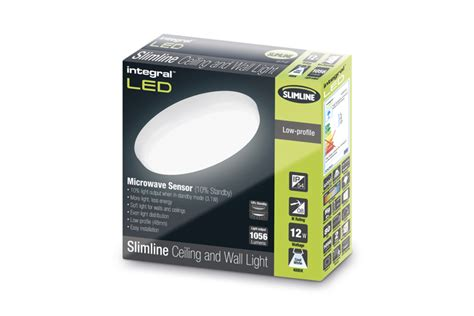 Lu Bohlam Led 10 Watt Sensor Tepuk Standby 15000 Jam slimline ceiling and wall light 12w 4000k 1056lm non dimmable with integrated 10 standby
