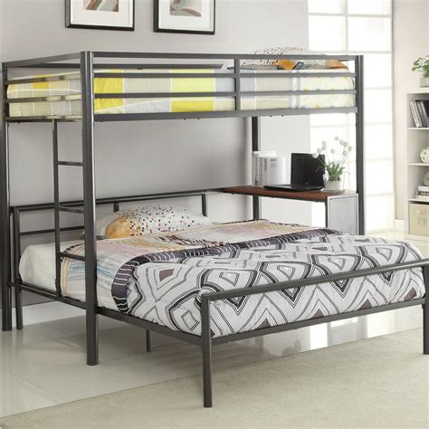 Fancy Bunk Bed With Desk Underneath Plan Gallery Bedroom Likable Size Wood Loft With Desk Underneath Futon And Woodworking Plans Beds For