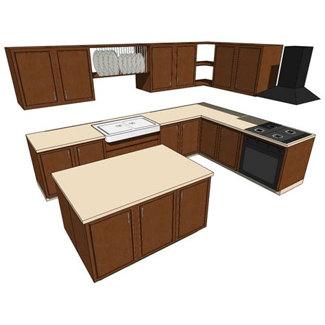 mobile kitchen island 3d model formfonts 3d models lowpolykitchenc01 3d model formfonts 3d models textures