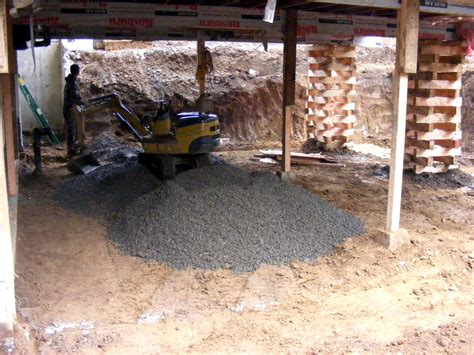 dig out basement micro excavation inc gt projects