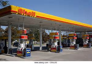 shell petrol station stock photos shell petrol station