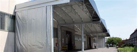 tettoie industriali kopron pensiline metalliche